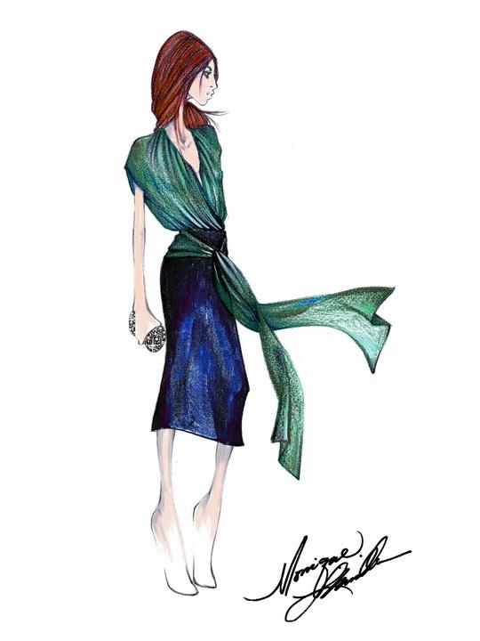 Clifford New York Fashion Week Fall 2015 February 2015 Monique Lhuillier
