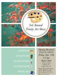 Third Annual Art Show at Trinity Episcopal Church