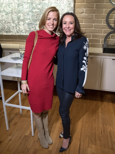 Dallas, LR Art House opening, January 2018, Emily Roosevelt, Amity Gillespie