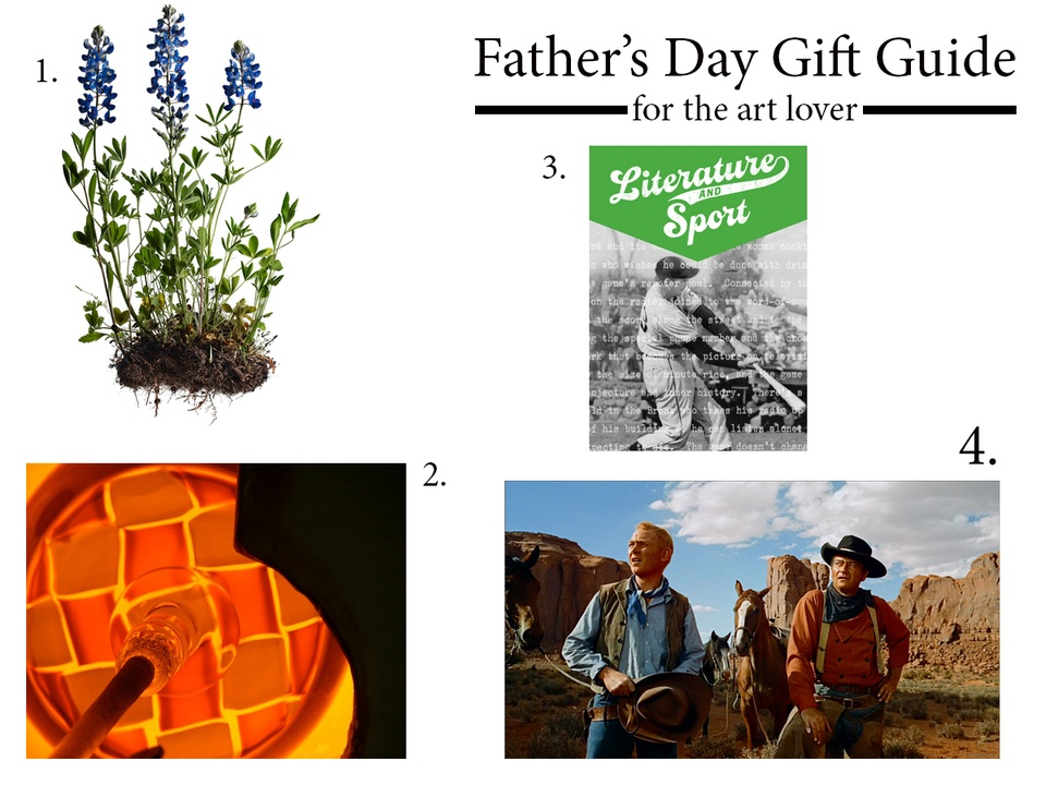 Father's day gift guide 2013 art