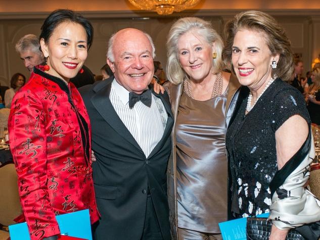 Y Ping Sun, George Stark, Nancy Dunlap, Lois Stark at Inprint Gala