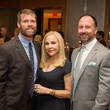 Tony Bradfield, from left, Carolyn Farb and Dr. Kevin Black at the Arthritis Foundation Award party May 2014
