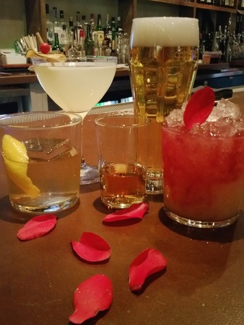Izakaya Midtown Valentine's drinks