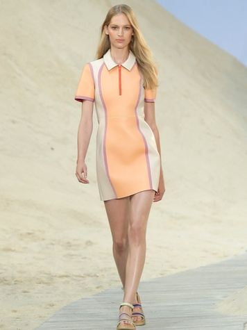 Fashion Week spring summer 2014 Tommy Hilfiger Look 01
