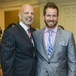 1 Clifford Pugh, left, and Jeff Shell at the Fashion Retailers luncheon October 2013
