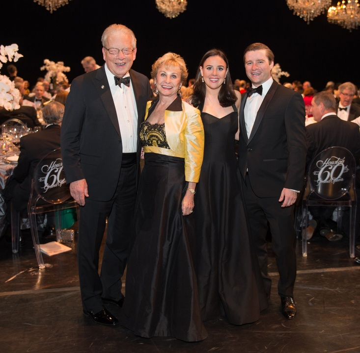 2008 Harlan and Dian Stai, from left, Alex Odell and Gonzolo Alonzo at the Houston Grand Opera HGO 60th Anniversary March 2015