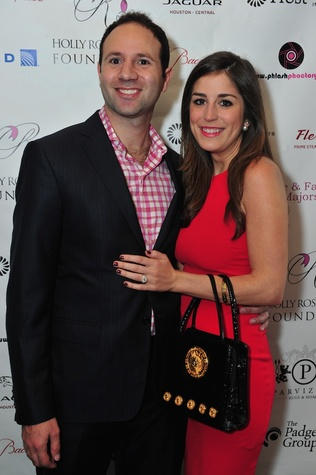 Ben Harwood Rose and Laura Max Nelson at the Holly Rose Ribbon Foundation Day dinner September 2014