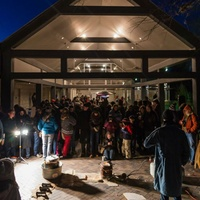 Umlauf Sculpture Garden & Museum presents Live Bronze Pour
