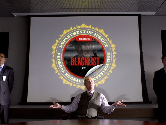 James Spader stars in the Blacklist
