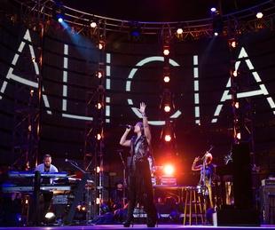 Alicia Keys at Houston Rodeo