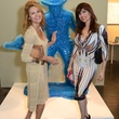 17 Sandi Ramirez, left, and Karina Barbieri at the Texas Contemporary Art Fair VIP opening party October 2013