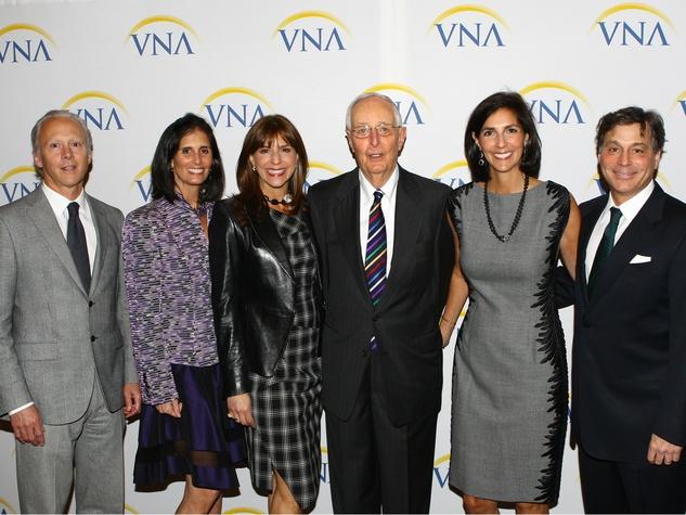 Jeff & Regen Fearon, Sally Horchow, Roger Horchow, Lizzie & Dan Routman, VNA Legends and Leaders