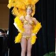Golden Nugget Lake Charles La. December 2014 grand opening showgirl