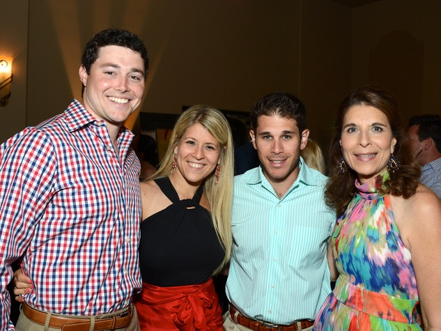 116 Child Advocates Pull for Kids Houston May 2013 Chris Campbell, Robyn Androphy, Daniel Androphy and Sheryl Androphy