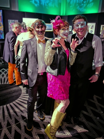 Houston, Orange Show gala, Oct 2016, Patrick Jez, Curry Glassell, Christopher Mendel