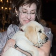 Andrea Moore and Puppy at the Covenant House Gala April 2014