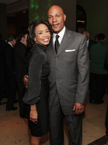 Gina and Mario Elie at the Knowledge Arts Foundation dinner November 2013