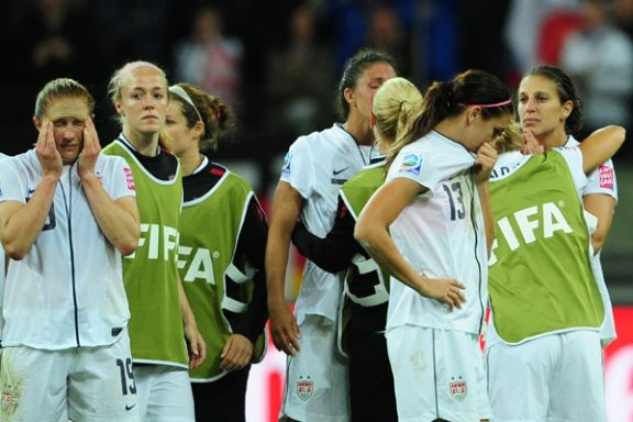 u.s. women's soccer loss
