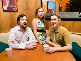 Your Terrific Neighbors sketch comedy troupe with Curtis Luciani, Courtney Hopkin, Braden Walker