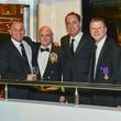 6 Todd Fertitta, from left, Scott Kelly, Richard Handler and Tilman Fetitta at San Luis Salute March 2014