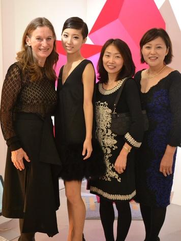 188 Houston Ballet patrons in Paris November 2013 Jean May, from left, Nozomi Iijima, Machiko Yoshiyama and Akemi Saitoh