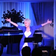 Rita Moreno in performance at the Houston Arts Alliance event with Rita Moreno May 2014