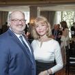 Martin B. Cominsky, Susan Boggio at Interfaith Ministries brunch