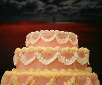 A Cake Contemplating Isaac Julian