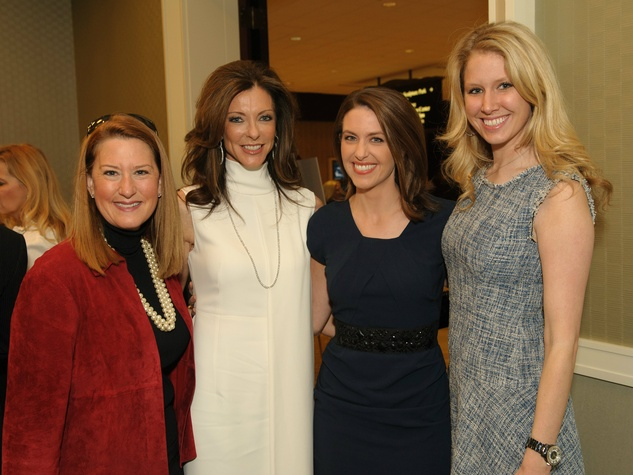 gillian breidenbach, charlotte anderson, shelly slater, meredith ford, doing the most good luncheon