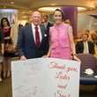 9726 Lester and Sue Smith at the Lester and Sue Smith Clinic dedication at Texas Children's Hospital May 2014