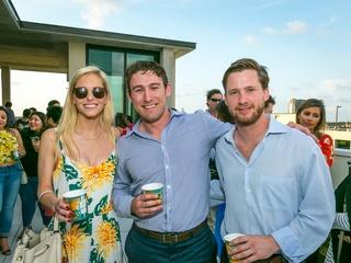 CM Hello Summer Social Emily Tamlyn, Chad Mozingo, George Dodd