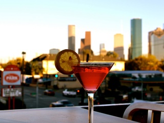 Sawyer Park, cocktail, skyling