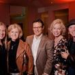 Beverly Newsom, from left, Brenda Payne, Gary Payne, Barbra Krings and Garry Newsom at the Texas Film Awards Event February 2015