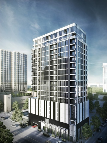 Marlowe Houston 20-story high-rise rendering downtown Houston March 2015