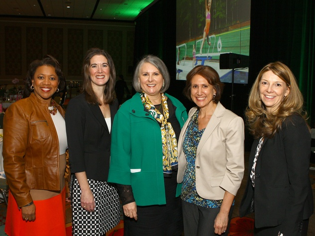 Michelle Thomas, Colleen Miller, Cynthia Malone, Rachel Simon, Sabrina, Girl Scouts Luncheon