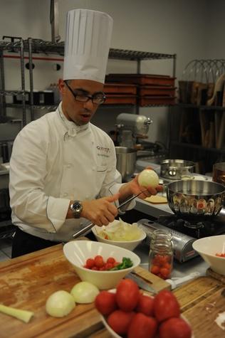 Quattro cooking class Maurizio Ferrarese