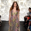 Fashion Week spring 2015 Naeem Khan gown