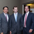 4960 Thanh Roettele, from left, Patrick McWilliams and Greg Mendez at the Career and Recovery Luncheon July 2014