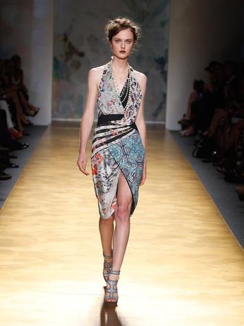 Fashion Week spring summer 2013 Nicole Miller Look 1