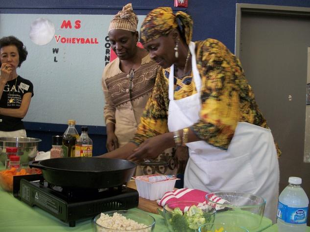 VegFest, June 2012, cooks