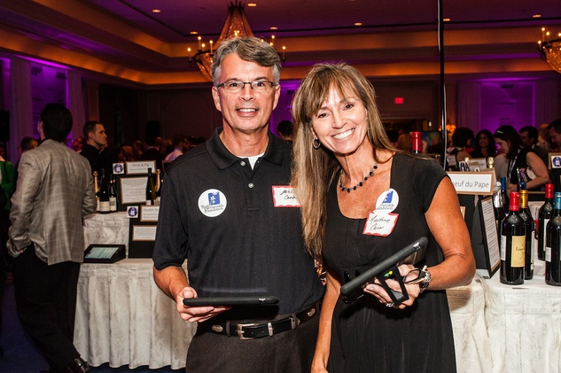 14 Jack and Marti Carr at The Periwinkle Foundation's Iron Sommelier October 2014
