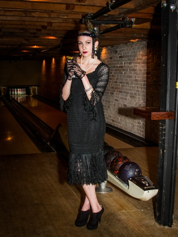 FashionXAustin Austin Fashion Week Kickoff 2015 at Speakeasy 1920s Look Elizabeth Lestina by Ashley Hargrove DTK Austin Styling