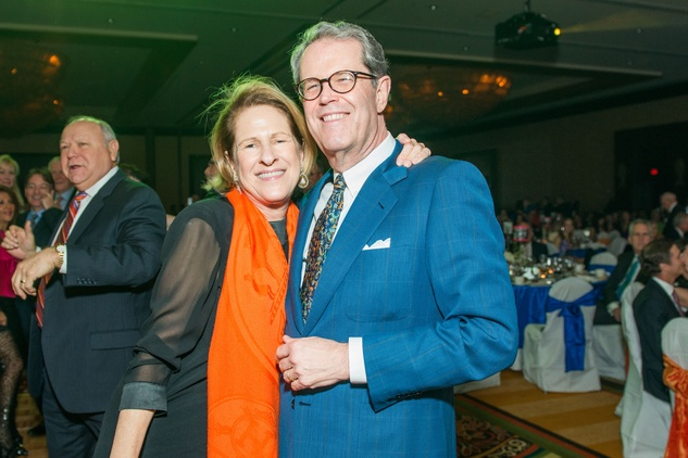 0459 Mary Jane and Bob Wakefield at the Cristo Rey Jesuit Gala January 2015