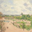 Pisarro_Tuileries Garden, Gray Morning