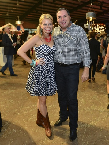 5 Valerie and Tracy Dieterich at the Cattle Barons Ball April 2014