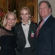 Vickie, Meredith and George Bayoud, january deb parties