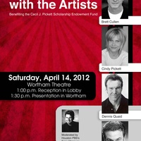 """An Afternoon With The Artists"" with Dennis Quaid, Brett Cullen, Robert Wuhl and Cindy Pickett"
