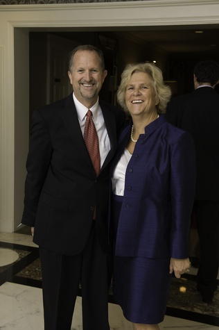 14 Bill and Leslie Buck at the Houston Bar Association Harvest Celebration November 2014