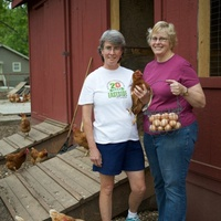 Dorsey Barger and Susan Haufmann of HausBar farms