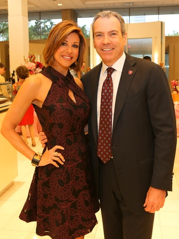 Dominique Sachse and Bob Devlin at Neiman Marcus' Stiletto Strut